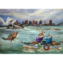 Fishing in Sydney Harbour